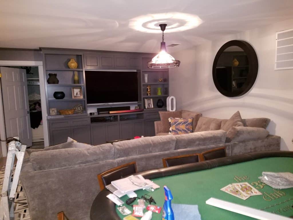 Living Room Remodeler for Home with Entertainment Center