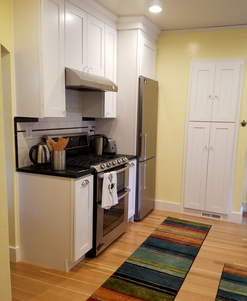 Traditional Kitchen Remodel in White