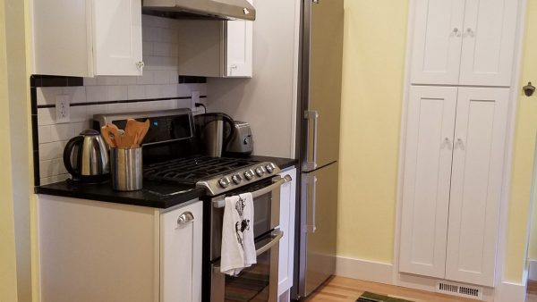 Traditional Kitchen Remodel with Countertop close up